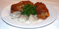 Choice of 6 Pierogi with Golabek (Stuffed Cabbage)